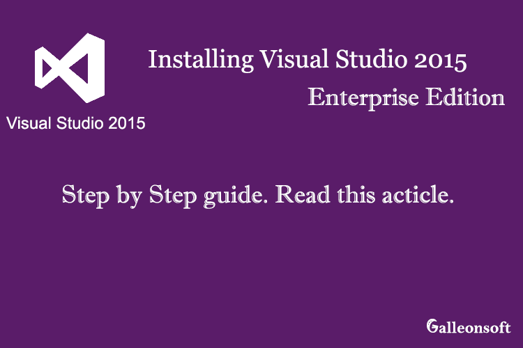 install Visual Studio 2015 FREE