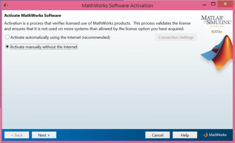 matlab activation key free 2016a