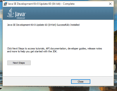 install-java-in-windows