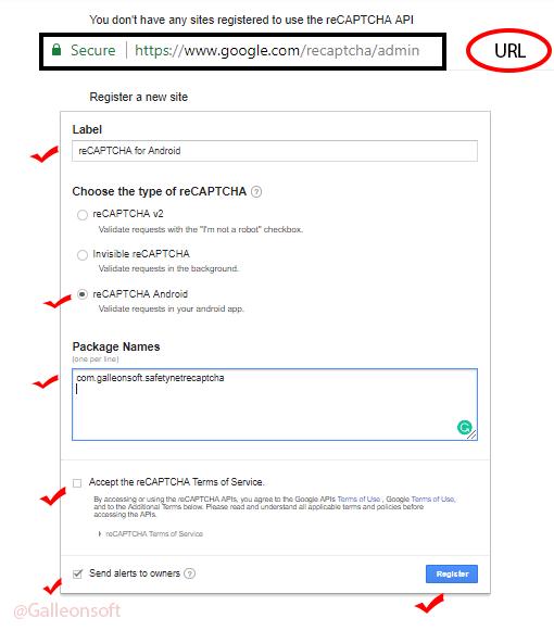 Google-reCAPTCHA-accesskey